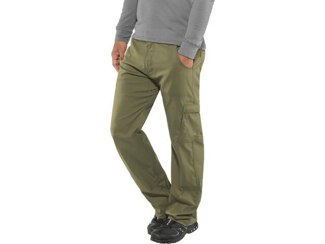"Prana Stretch Zion Pantaloni 32"" Uomo, verde oliva"